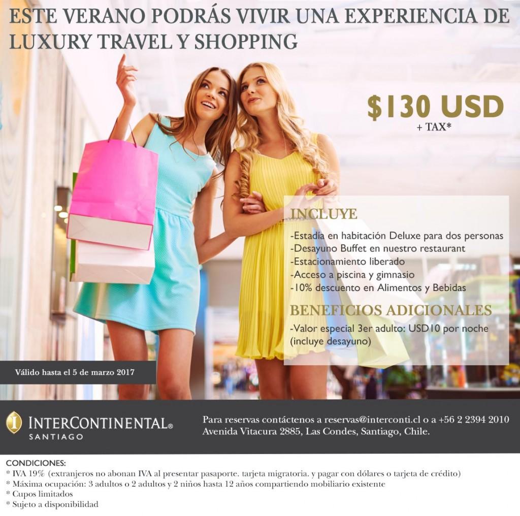 Promoción Summer Shopping Redes
